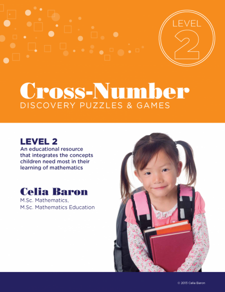 Cross Number Discovery Puzzles & Games: Level 2 (Book)