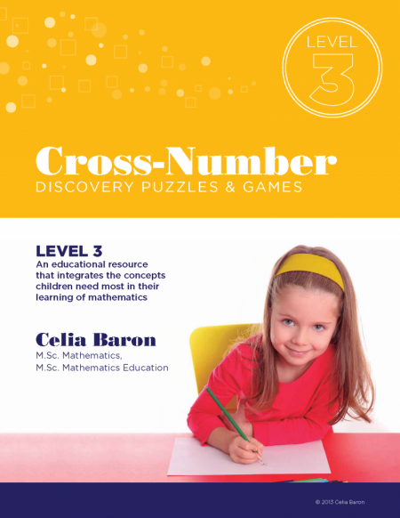Cross Number Discovery Puzzles & Games: Level 3 (Book)