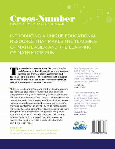 Cross Number Discovery Puzzles & Games: Level 4 (Book)