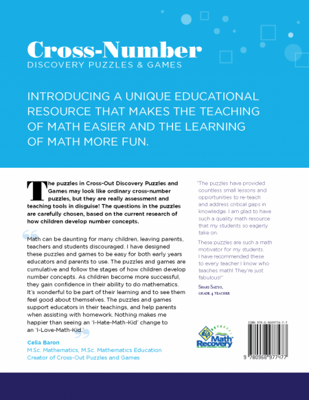 Cross-Out Number Discovery Puzzles & Games: Level 4/5 (Book)