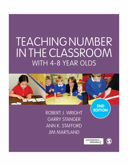 Teaching Number in the Classroom with 4-8 Year Olds, Second Edition; SAGE Publications (Purple)