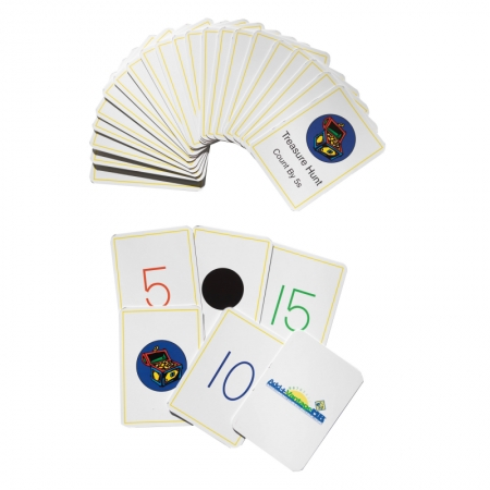 Treasure Hunt Card Deck (by 5s)